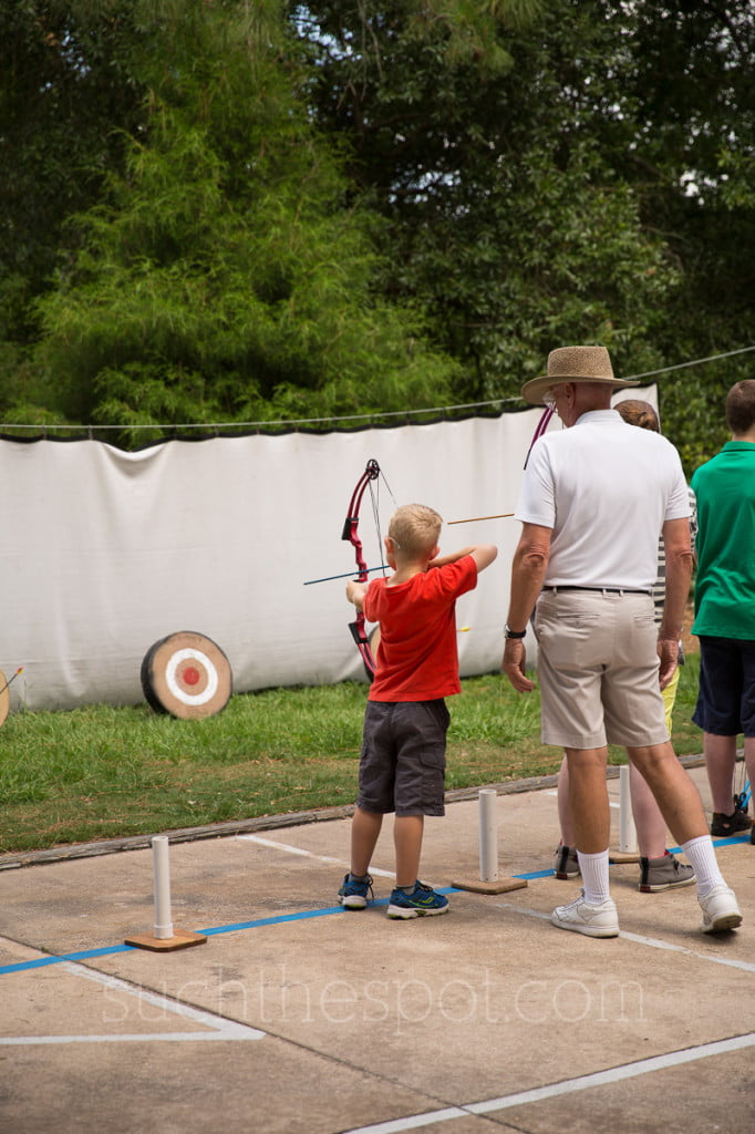 Archery experience at Fort Wilderness