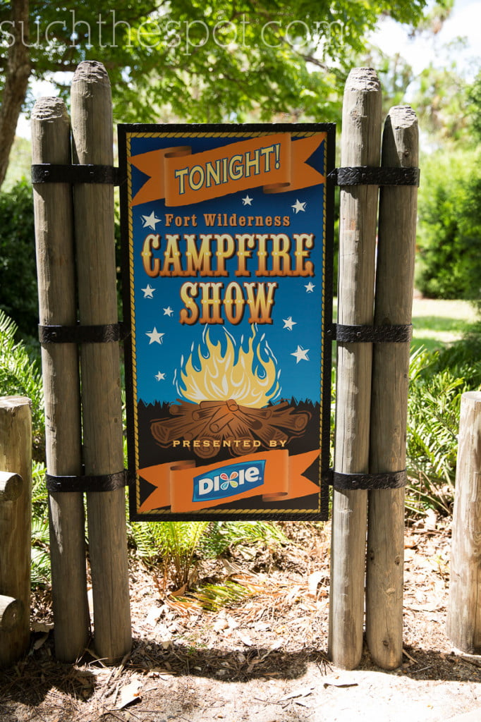 Fort Wilderness Campfire Show