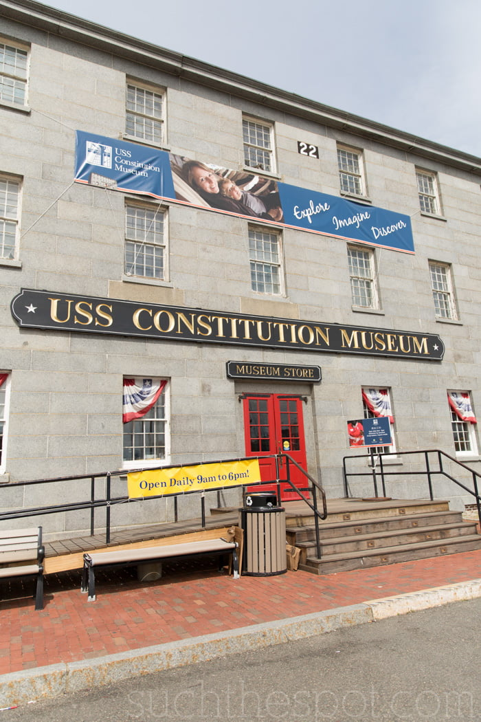 USS Constitution Museum review | Such the Spot